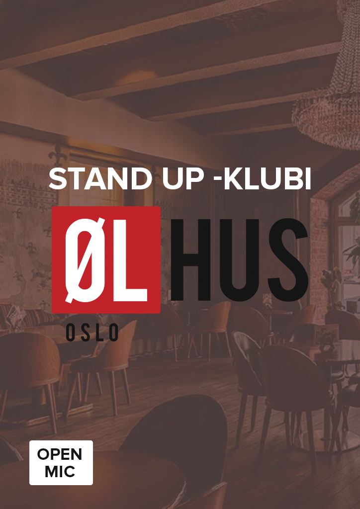 Stand up -klubi Ølhus Oslo
