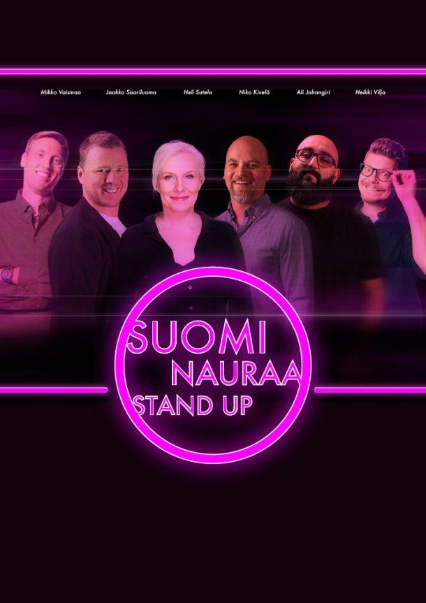 Suomi Nauraa – la 21.11. klo 20:00