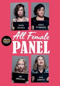 Hyvinkään Villatehtaan Stand up – SPECIAL – All Female Panel