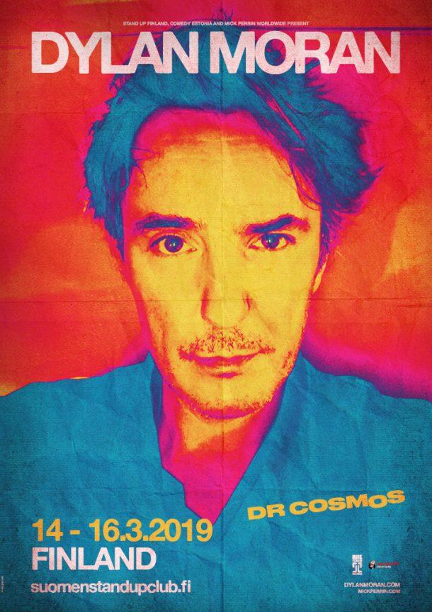 Dylan Moran – Dr Cosmos – Helsinki