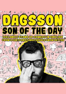 Day Off Comedy Club – Hugleikur Dagsson – Son of the day