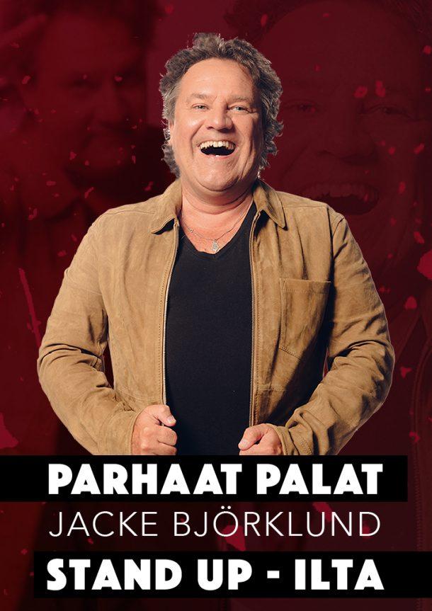 Jacke Björklund – Parhaat Palat – la 02.11. klo 19:00