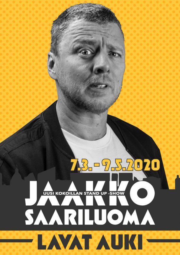 Jaakko Saariluoma -Lavat auki – la 25.4. klo 19:00