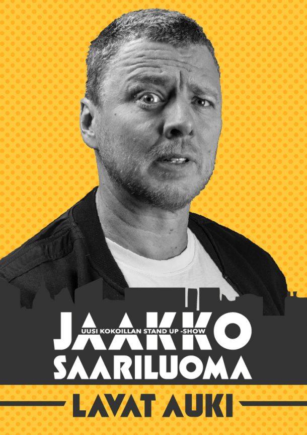 Jaakko Saariluoma -Lavat auki – la 3.10. klo 19:00