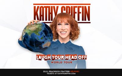 Neljä syytä seota stand up -koomikko Kathy Griffinistä ja siitä, että hän on tulossa Suomeen