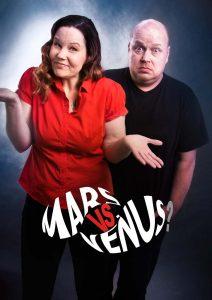Mars vs. Venus – Rauma su 12.8. klo 19:00