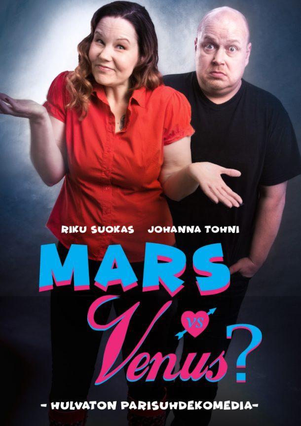 Mars vs Venus? – pe 01.11. klo 19:00