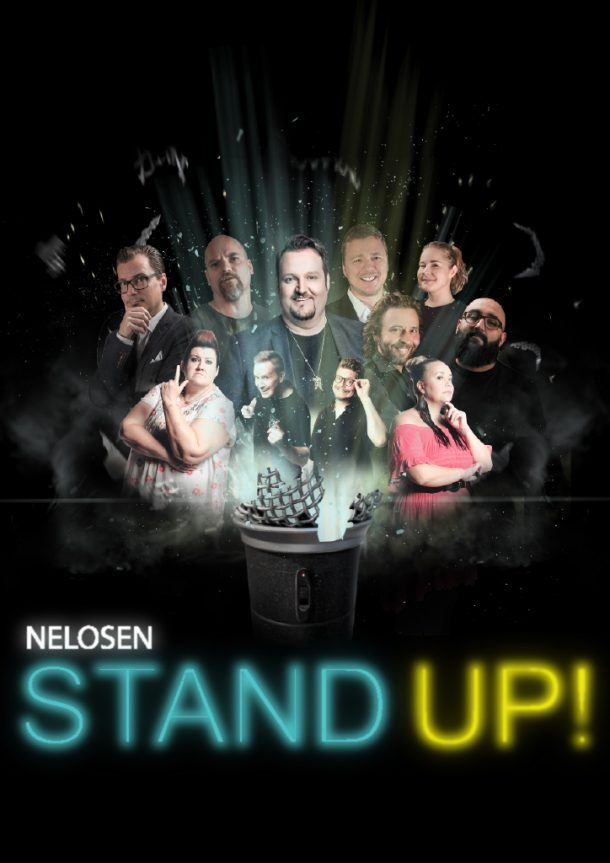 NELOSEN STAND UP! – to 12.09. klo 21:00