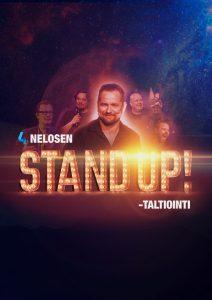 Nelosen stand up -ohjelman taltiointiklubi – Helsinki pe 17.8. klo 18:00