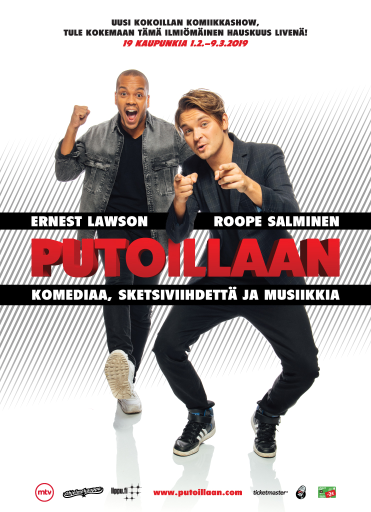 PUTOILLAAN – Kuopio pe 01.02. klo 19:00