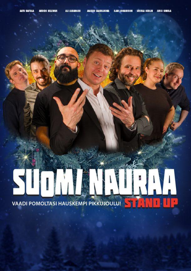 Suomi nauraa – Turku la 30.11. klo 20:00