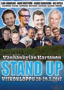 Vanhankylän Kartanon Stand Up -viikonloppu
