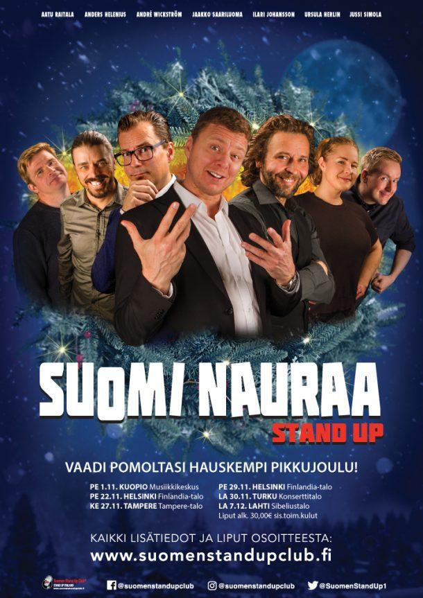 Suomi nauraa – Tampere ke 27.11. klo 20:00
